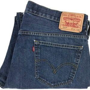 Levi's 569 Loose Straight Fit Denim Jeans Sz 36x31